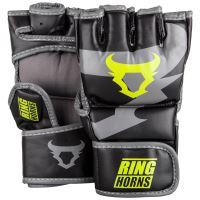 MMA rukavice Ringhorns Charger černo - Neo žlutá