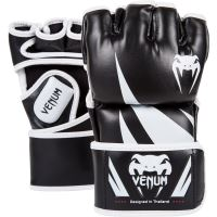 MMA rukavice Venum Challenger černo bílá