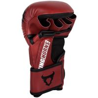 MMA rukavice Ringhorns Charger Sparring červená 3