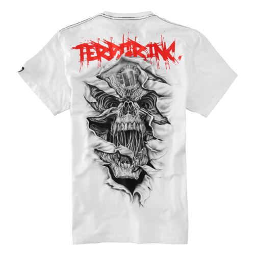 Tričko PitBull West Coast Terror Skull
