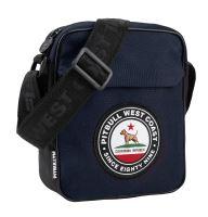 Pánská taška přes rameno Pitbull West Coast CIRCAL DOG modro-černá