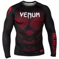 Rashguard Venum NoGi 2.0 dlouhý rukáv černo-červená