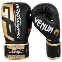 Boxerské rukavice Venum Petrosyan černo-zlatá