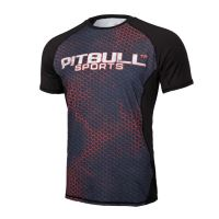 Rashguard Pitbull West Coast IRON Logo