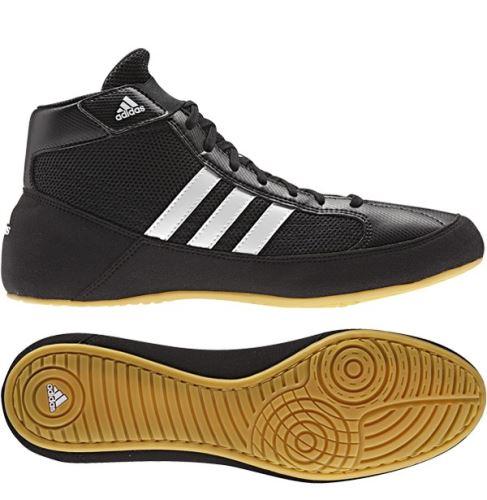 Zápasnické boty Adidas Havoc dětské tkaničky černá