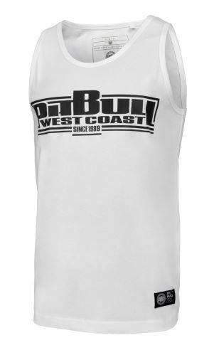 Tílko Pitbull West Coast slim Boxing bílá