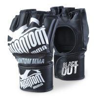 MMA rukavice Phantom Blackout, černá PU