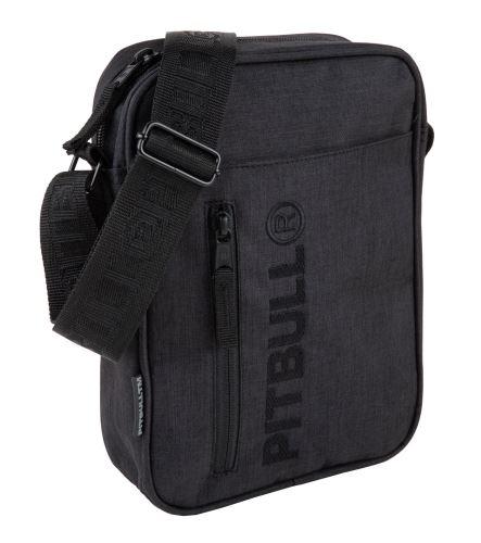 Pánská taška přes rameno Pitbull West Coast Concord matná černá