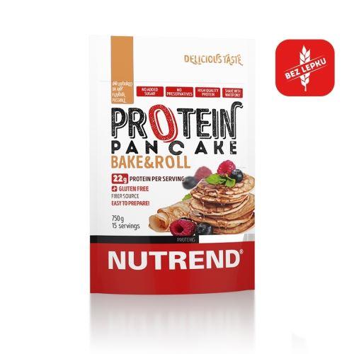Nutrend Protein Pancake 750g - bez příchuti