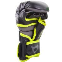 MMA rukavice Ringhorns Charger Sparring černo - Neo žlutá 3