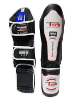 Chrániče holení a nártu Professional Fighter černo-bílá