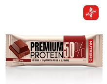 Nutrend Premium Protein 50 bar 50g čokoláda