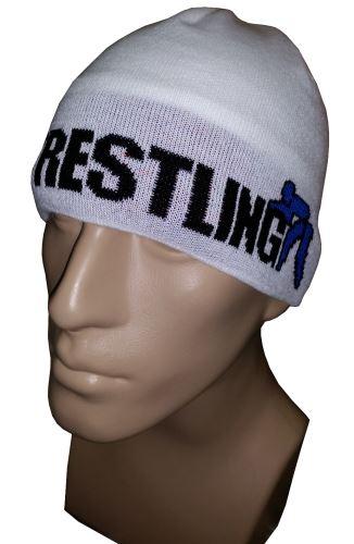 Čepice Wrestling 3 bílá