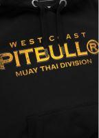 Mikina Pitbull West Coast Muay Thai 2019 černá 3
