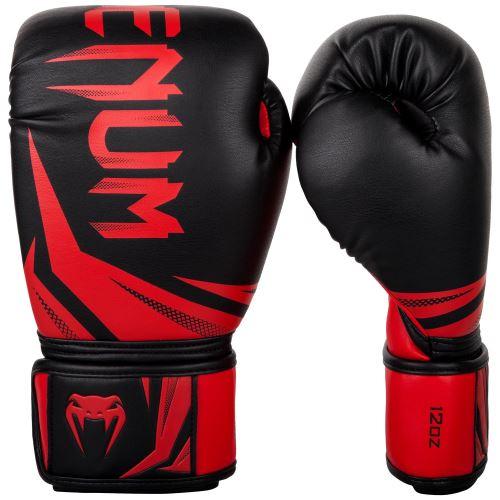Boxerské rukavice Venum Gladiator 3.0 černo-červená