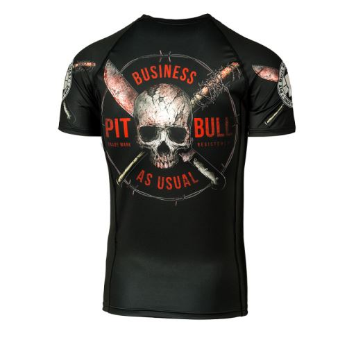 Rashguard Pitbull Business As Usual