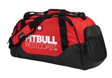 Sportovní taška Pitbull West Coast TNT černo/červená