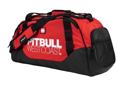 Sportovní taška Pitbull West Coast TNT černo červená