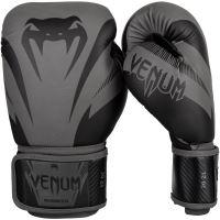 Boxerské rukavice Venum Impact šedo-černá