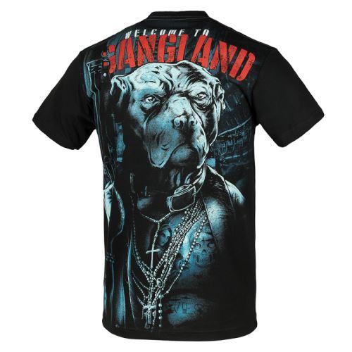 Tričko Pitbull Welcome To Gangland 17 černá