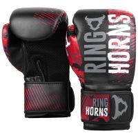 Boxerské rukavice RingHorns Charger MX červený maskáč 2
