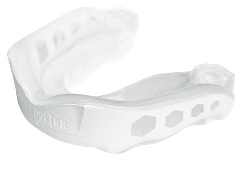Chránič zubů Shock Doctor GEL MAX, bíla