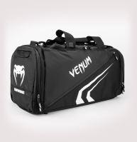 Sportovní taška Venum Trainer Lite EVO černo-bílá