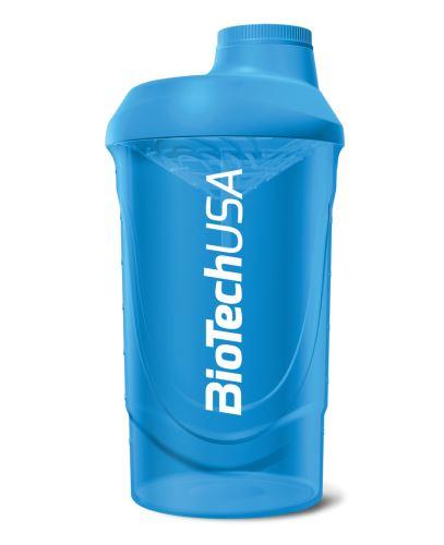 BioTech USA Šejkr Wave 600ml modrá