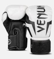 Boxerské rukavice Venum Elite bílý maskáč 3