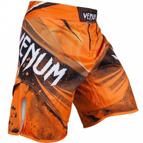 MMA šortky Venum Galactic oranžová