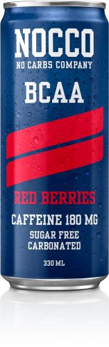 NOCCO BCAA – 330 ml (sycený) red berries