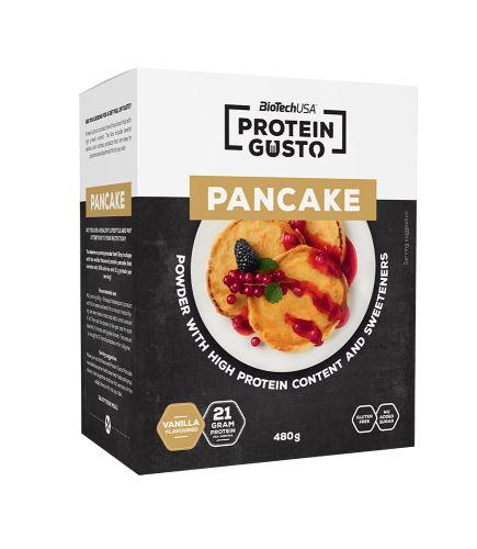 BioTech USA Protein Gusto Pancake 480g vanilka