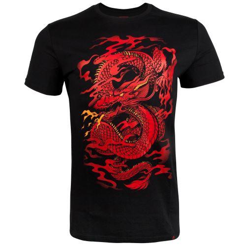 Tričko Venum Dragons Flight černo-červená