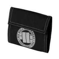 Peněženka Pitbull West Coast Logo 16 černo-šedá