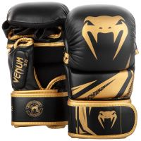 MMA rukavice Venum Challenger 3.0 Sparring černo-zlatá