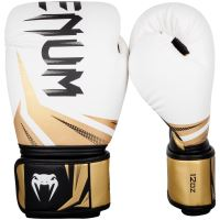 Boxerské rukavice Venum Challenger 3.0 bílo-zlatá