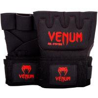 Gelové bandáže Venum černo-červená