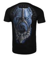 Tričko Pitbull West Coast Skull Dog 18