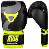 Boxerské rukavice RingHorns Charger černo-žlutá