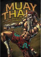 Mikina Pitbull West Coast Muay Thai 2019 černá 4