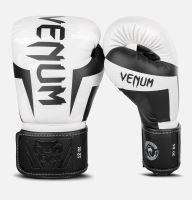 Boxerské rukavice Venum Elite bílý maskáč 2
