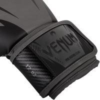 Boxerské rukavice Venum Impact šedo-černá 3