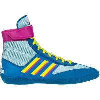 Zápasnické boty adidas Combat Speed 5 tyrkysová
