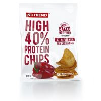 Nutrend High Protein chips 40g paprika