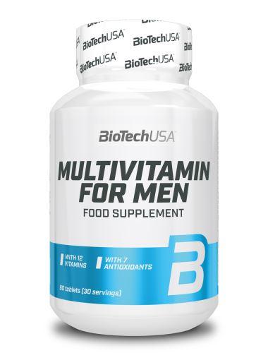 BioTech USA Multivitamin pro muže 60 tablet