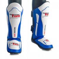 Chrániče holení a nártu Professional Fighter modrá