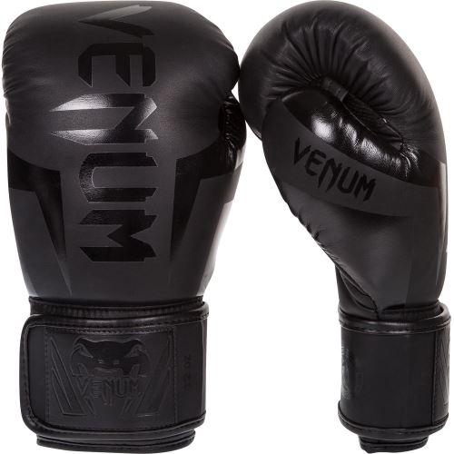 Boxerské rukavice VENUM Elite matná černá