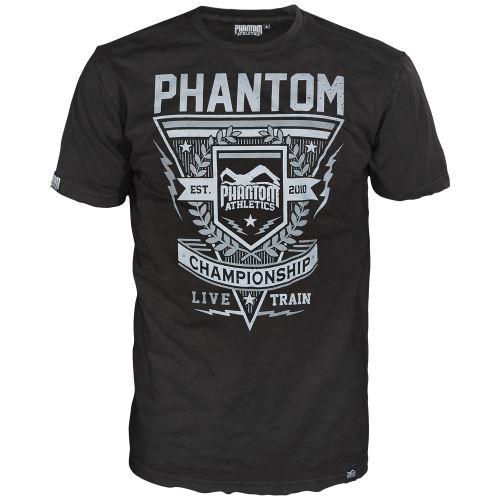 Tričko Phantom Propaganda černá