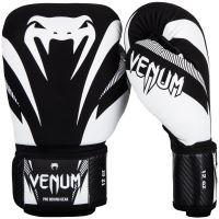 Boxerské rukavice Venum Impact černo-bílá