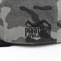Snapback Phantom Team šedo-maskáč 3